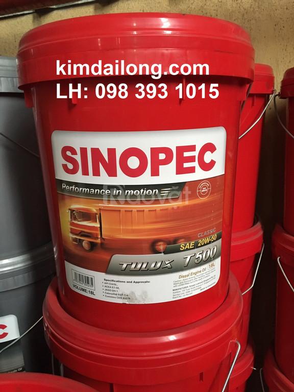 Nhớt động cơ Sinopec 20W50 CI4