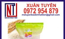 Túi đựng gạo 1kg in trục ống đồng