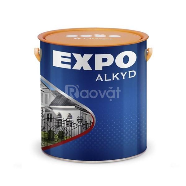 Cần mua sơn dầu Expo màu đên mờ giá tốt tại miền nam (ảnh 1)