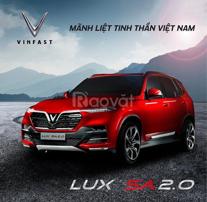 Bán cọc xe Vinfast Lux SA2.0 đợt đầu