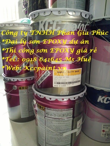 Bán sơn KCC lót chống rỉ EP170QD, lót kẽm EP1760 Epoxy kcc giá rẻ