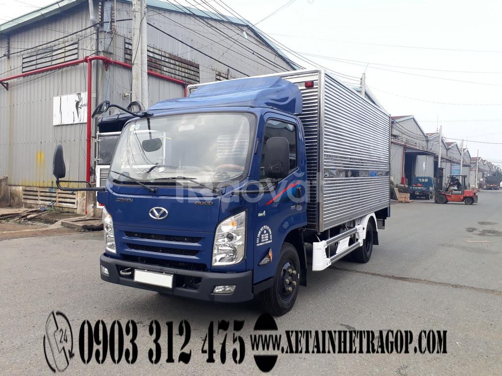 Xe tải iz65 Đô Thành tải 2t5-3t5, trả góp lãi suất thấp