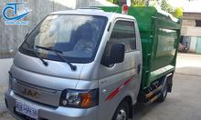 Xe mini chở rác chuyên dùng - Xe jac 3.5khối I xe rác nhỏ 3 khối