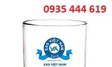 In logo lên ly thủy tinh làm quà tặng Quảng Trị