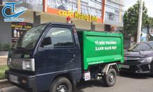 Xe chở rác Suzuki 2 khối - Đại lý cung cấp xe chở rác nhỏ