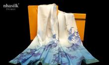Khăn choàng lụa tơ tằm họa tiết Kinh Thành Huế