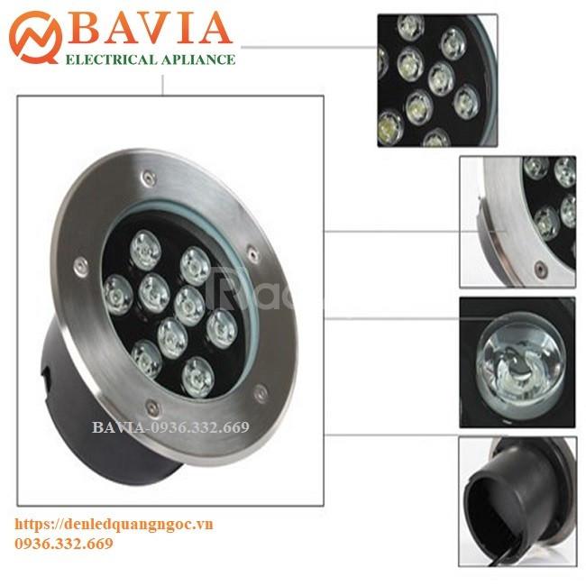 Đèn LED âm đất BAVIA UG801-9W