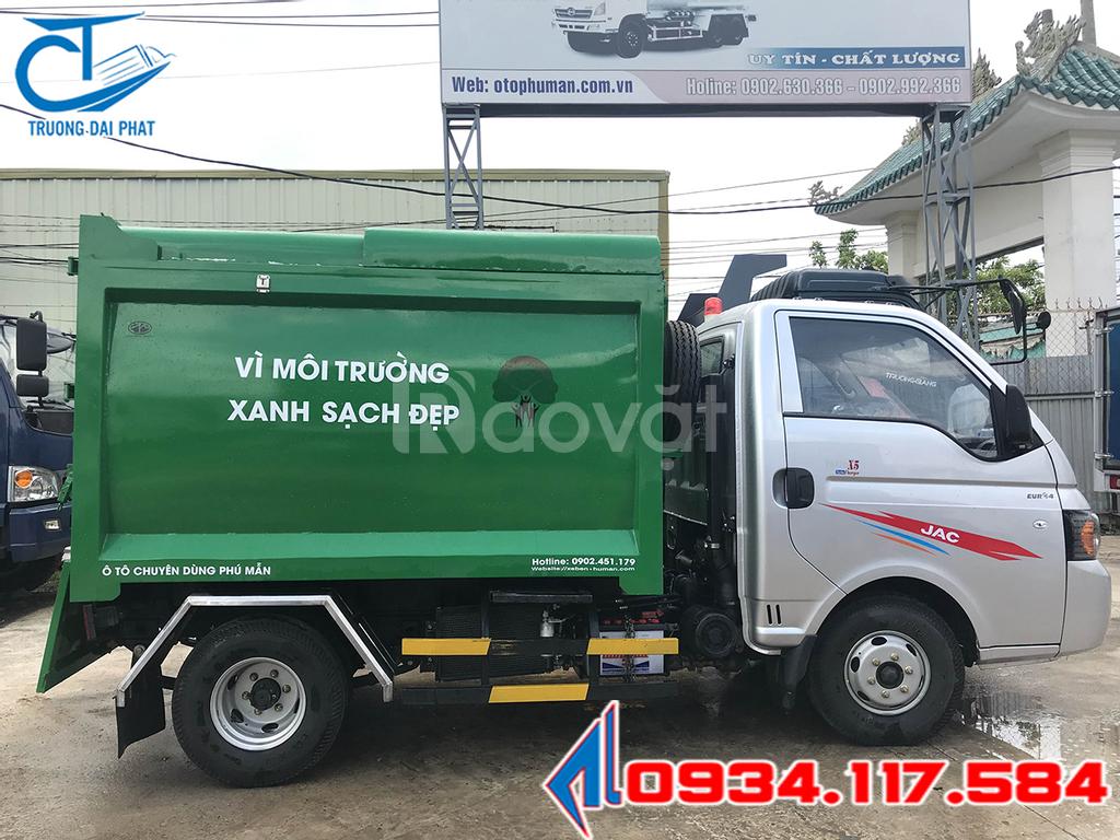 Xe chở rác mini jac 3.5 khối - giải pháp thay thế phương tiện thô sơ