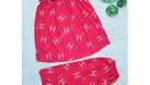 Chuyên sỉ đồ bộ lửng thun lạnh quai cánh tiên họa tiết (Mã 27255) (ảnh 4)