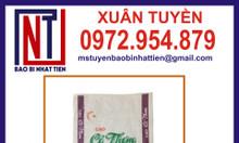 Bao pp dệt đựng gạo 25kg - in flexo
