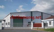 Cho thuê nhà xưởng tại Quán Gỏi, Bình Giang, Hải Dương DT 4000m2