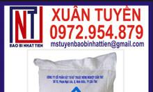 Bao pp dệt đựng gạo 50kg in flexo