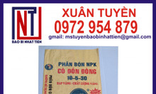 Chuyên cung cấp bao PP dệt đựng phân bón - Cty Nhật Tiến