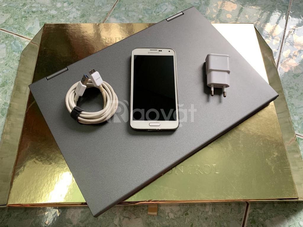 Samsung Galaxy S5 (màu trắng) quay video 4K, chống nước chuẩn IP67