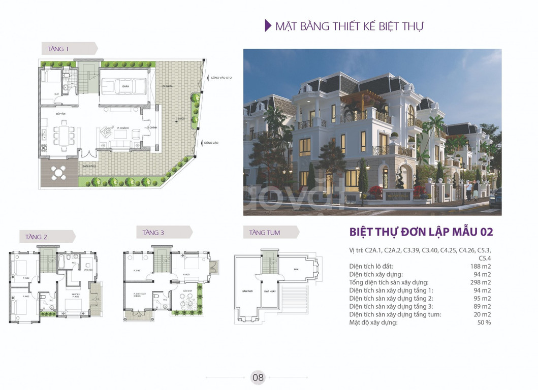 Cần bán đất nền biệt thự dự án The Phoenix Garden, Đan Phượng