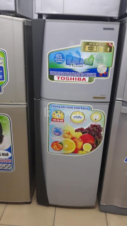 Tủ lạnh Toshiba 173l mới 88%, free ship