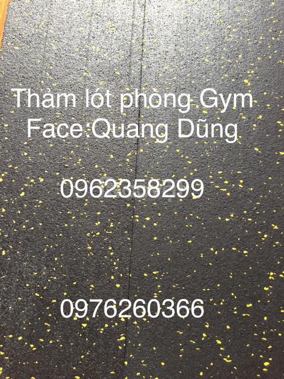 Thảm cao su phòng gym