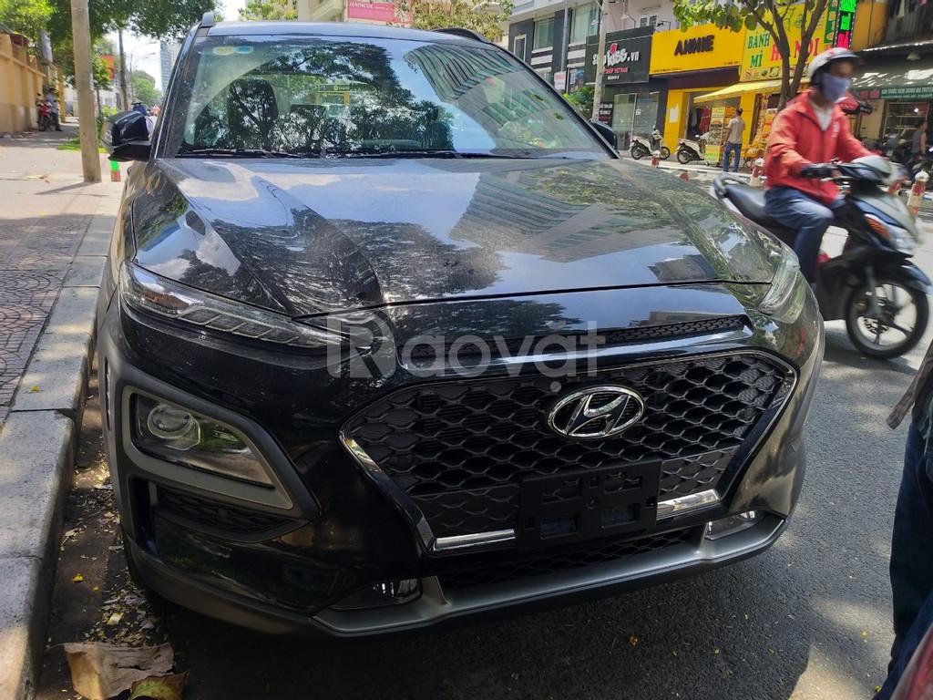 Hyundai Kona Turbo màu đen giá tốt, Hyundai An Phú, Hyundai Kona Turbo