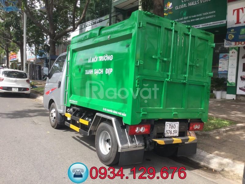 Xe chở rác Mini 3.5 khối - Xe chở rác ben mini 3.5 khối giá rẻ