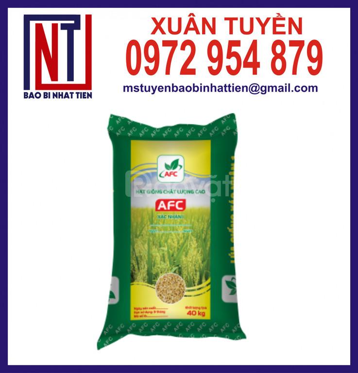 Bao lúa giống ghép màng đựng 40kg