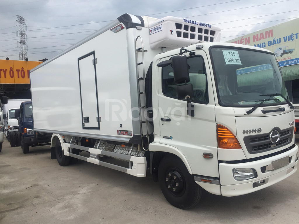 Xe tải Hino FC đông lạnh Quyền Auto F1