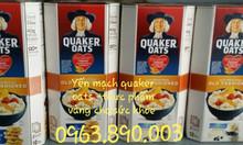 Yến mạch quaker oats nguyên chất