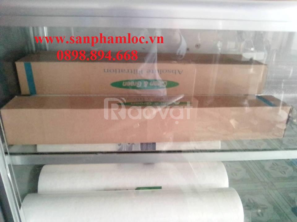 Lõi lọc giấy xếp PP 10 inch - 0.2 micron Hàn Quốc