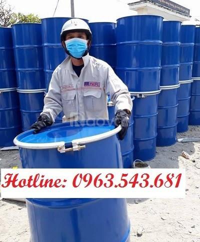 Thùng phuy đựng hóa chất 220 lít, phuy sắt 200 kg, phuy sắt tráng men