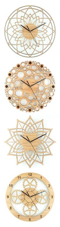 Tủ kê đồng hồ bàn ghế sắt hoa văn tinh tế tạo điểm nhấn cho không gian