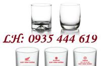 In ly thủy tinh giá rẻ tại Huế