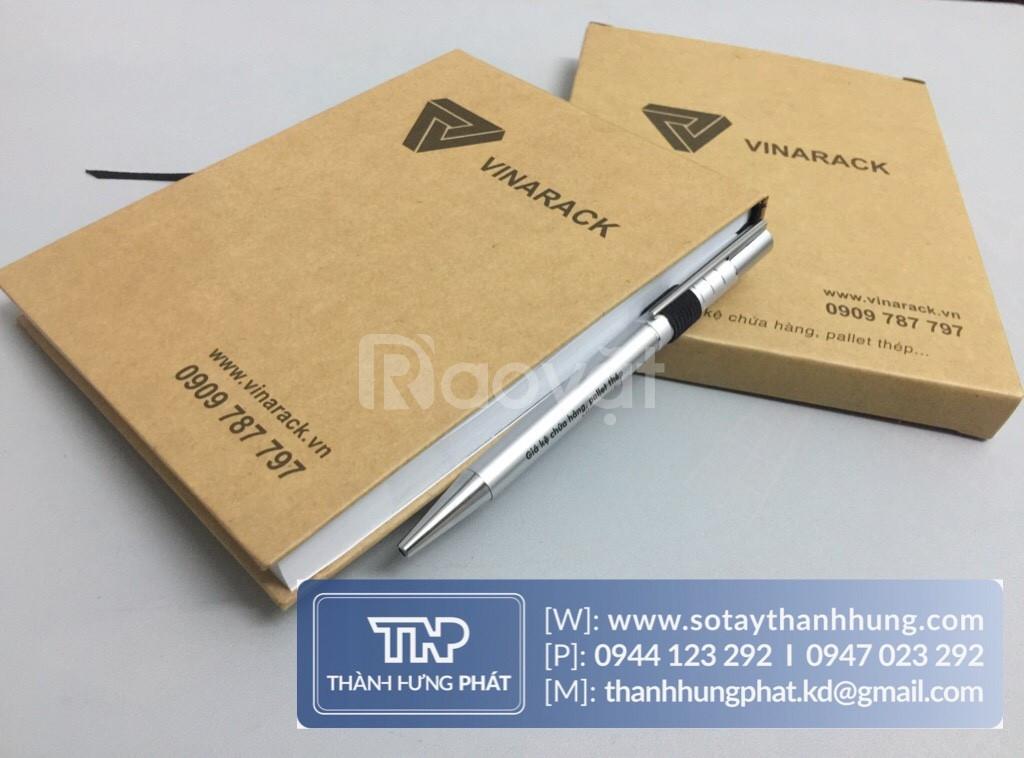 Xưởng in sổ tay giá rẻ làm quà tặng tại TPHCM