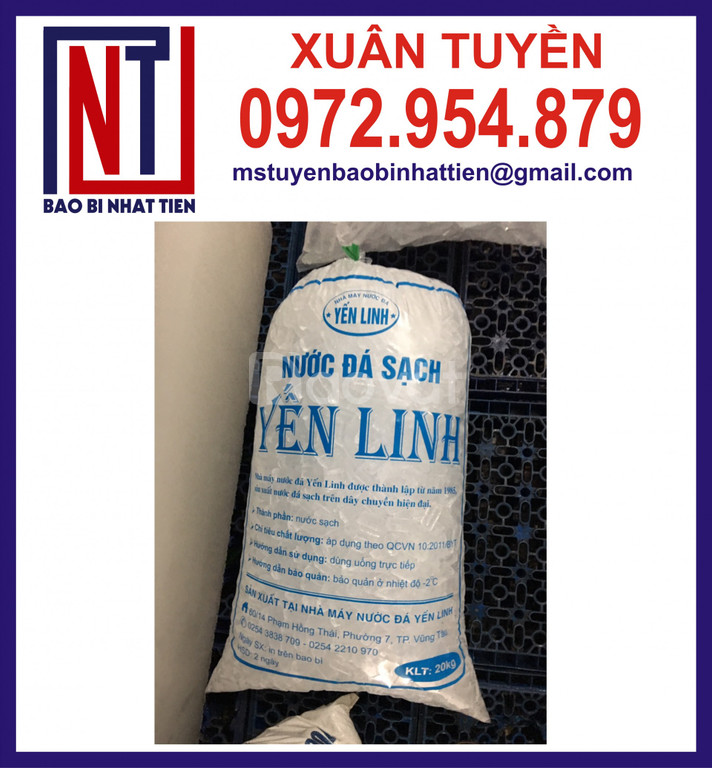 Sản xuất túi nilon đựng nước đá