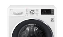 Máy giặt 9kg inverter LG FC1409S3W lồng ngang giá 0đ?