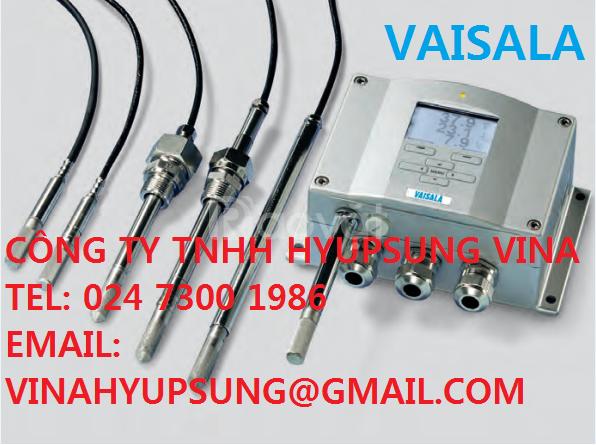 Humidity & Temperature - thiêt bị đo độ ẩm và nhiệt độ Vaisala VietNam