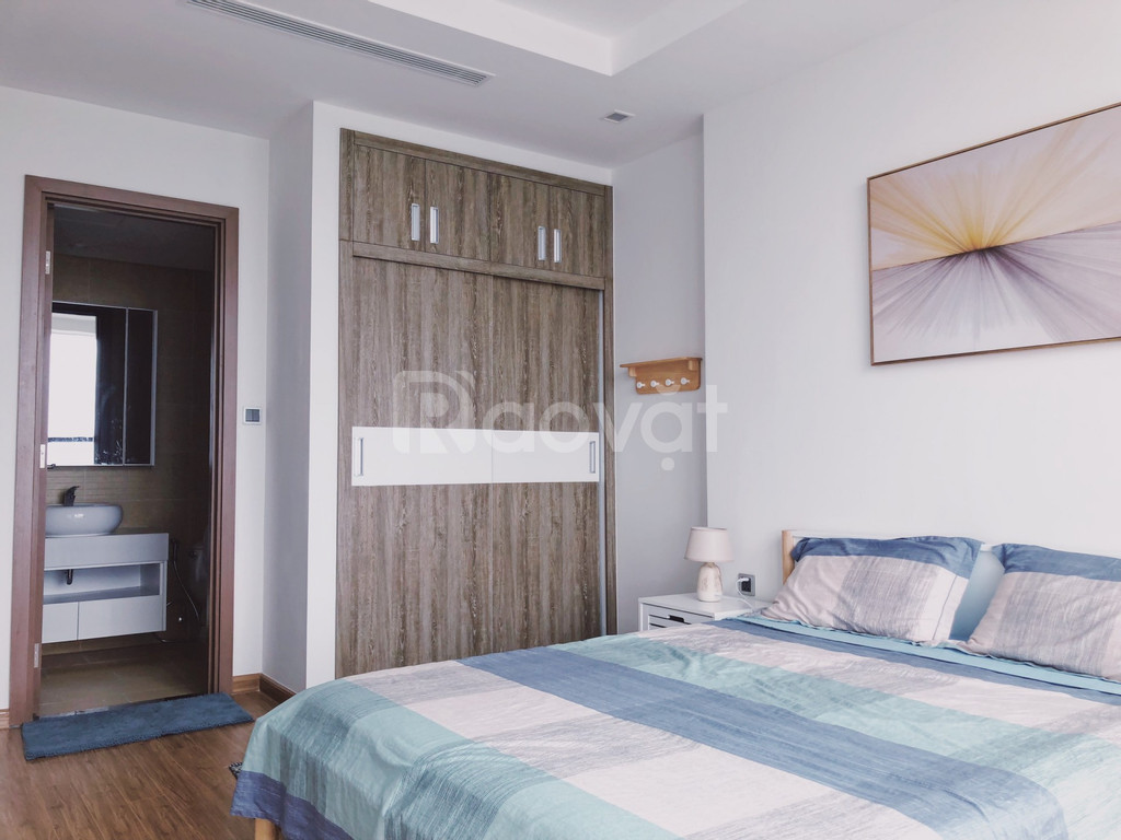 Cho thuê căn hộ 3PN, Vinhomes GreenBay, Full nội thất