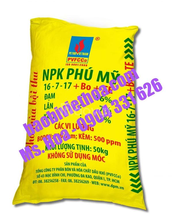 Bao pp dệt, bao đựng phân bón 25kkg, 50 kg