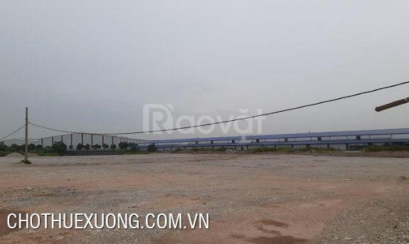 Cho thuê nhà xưởng Khu công nghiệp Châu Sơn, Phủ Lý Hà Nam giá tốt (ảnh 1)