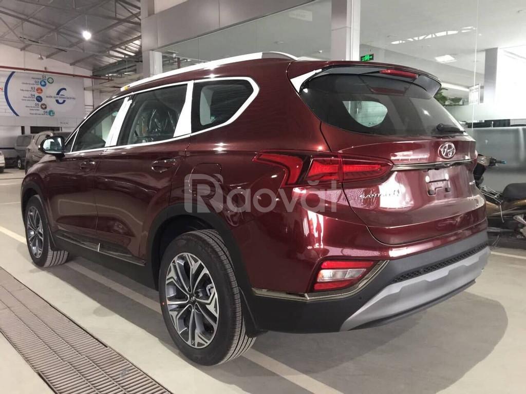 Hyundai SantaFe 2021 khuyến mãi lớn cam kết giá tốt hệ thống