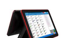 Bộ máy tính tiền cảm ứng hai màn hình giá rẻ tại Tân Phú
