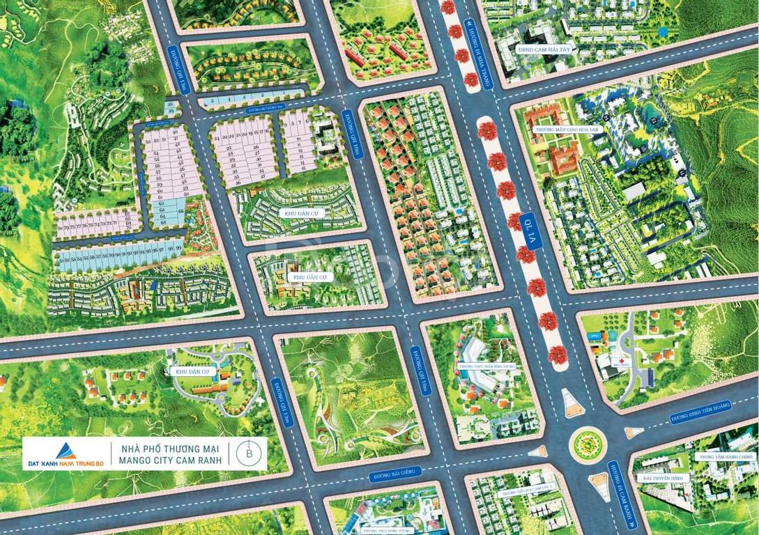 Đất nền sổ đỏ Cam Lâm - Khu dân cư sinh thái Biển Mango City