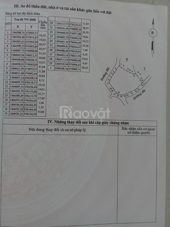 Cần bán lô đất đẹp thôn Bến Khế, xã Khánh Bình, Khánh Vĩnh, Khánh Hòa