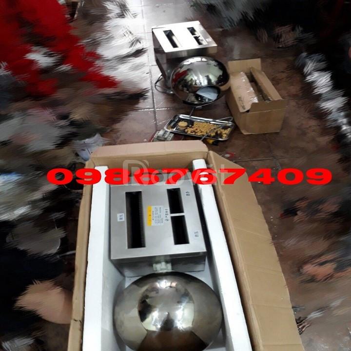 Máy vo viên trà sữa trân châu, viên nghệ,viên hoàn thuốc 10kg/h