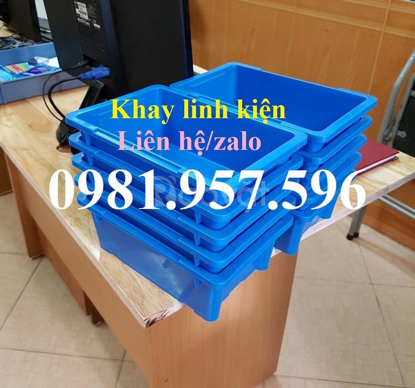 Hộp nhựa A4, khay nhựa đựng linh kiện điện tử, khay nhựa A4