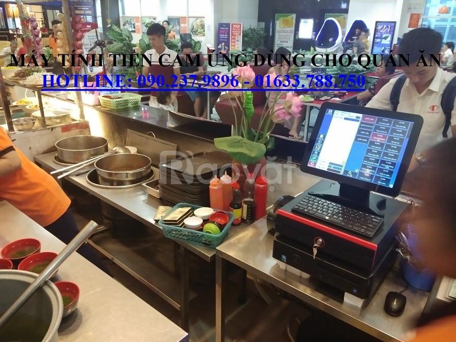Bộ máy tính tiền giá rẻ cho nhà hàng tại Bắc Giang