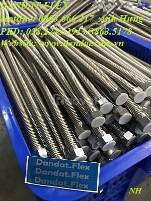 Dây dẫn nước nóng lạnh inox 304 - ống cấp nước mềm - dây dẫn nước mềm