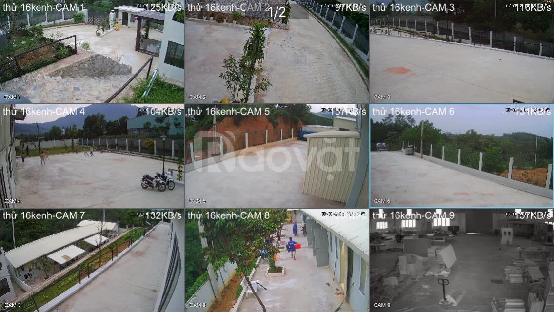Lắp đặt camera tại Hoàng Đạo Thuý, Thanh Xuân, Hà Nội