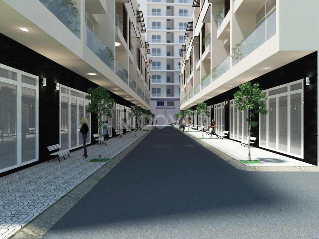 Nhà 5.3x14m, 4 lầu, đường 9m, phường Phú Mỹ, quận 7 (ảnh 1)