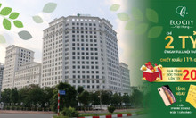 Giải thưởng đến 100 triệu khi mua căn hộ Eco City Việt Hưng CK 11%