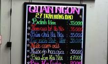 Bảng led viết tay Huỳnh Quang tại Kiên Giang, Cần Thơ, Bạc liêu