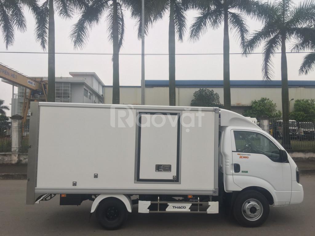 Bán xe tải thùng đông lạnh Hàn Quốc Thaco Kia New Frontier K250 1,99T